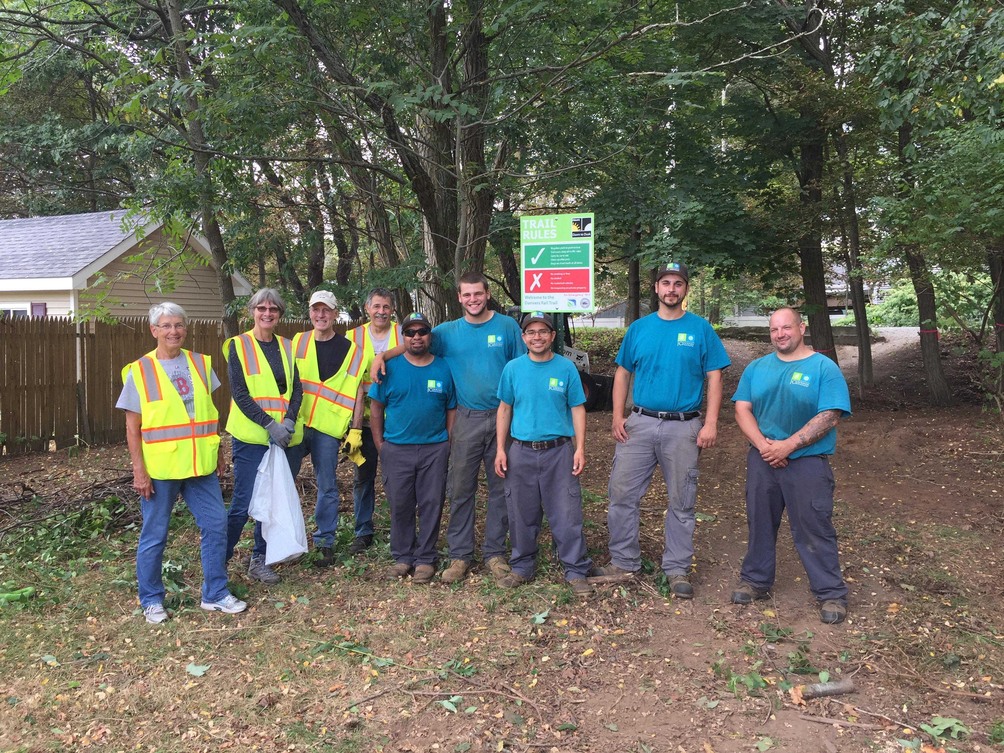 Danvers Rail Trail Volunteer Day
